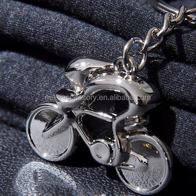 new arrival bike shaped souvenir keychain