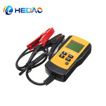 12V Test Tool Support All Automotive Cranking Lead Acid Battery Car Battery Tester