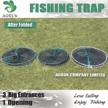 Round Spring Crab Trap Cage
