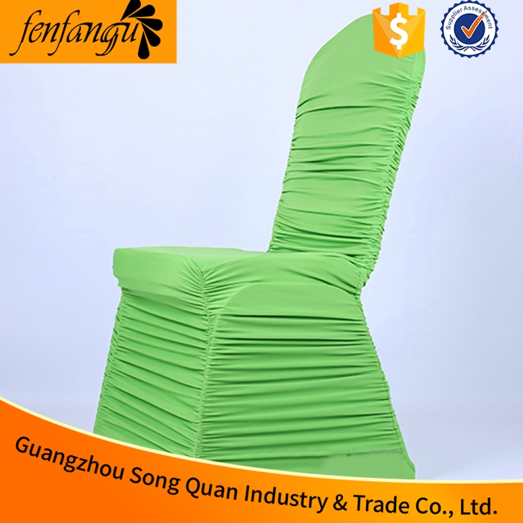 Garden chair seat cover of spandex chair cover bands