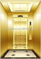 6 person passenger elevator with luxury decoration