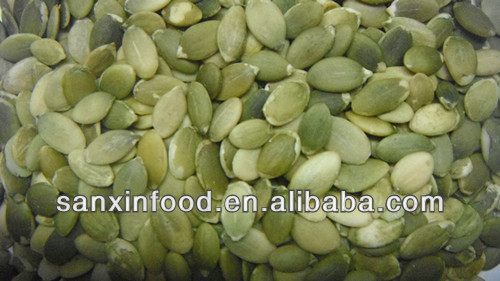 Green Bulk Pumpkin Seed Kernels Raw Shelled