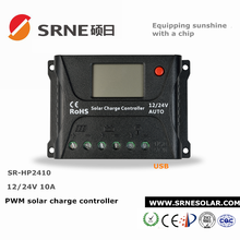 PWM 12V/24V/SRNE Solar Charge Controller For Home System