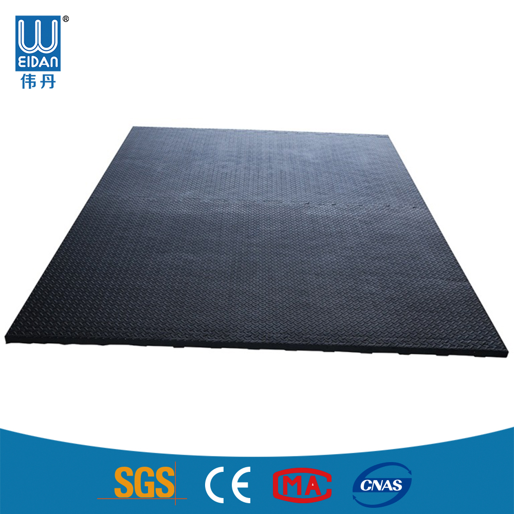 High Quality rubber horse stable mat, rubber cow mat Manufacturer