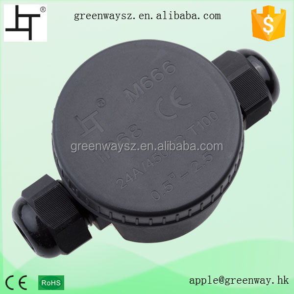 China Hot Sale IP66 Waterpoof Round Electrical Junction Boxes