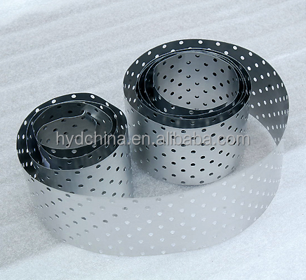 coated Aluminum Tape with holes for PPR Pipe