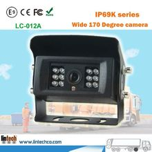 Good looking waterproof IP69 truck rear view camera system For towing vehicle