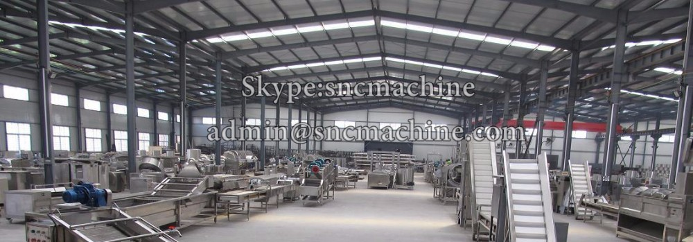 SNC Potato chips production line Best automatic potato chips making machines