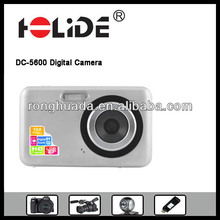 Popular digital fashion camera dv with 5 mega pixels, 2.7inch TFT LCD display,lithium battery for sale (DC-5600)
