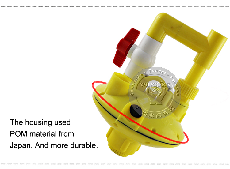 poultry chicken adjustable valve automatic drinking system water pressure regulator buy water. Black Bedroom Furniture Sets. Home Design Ideas