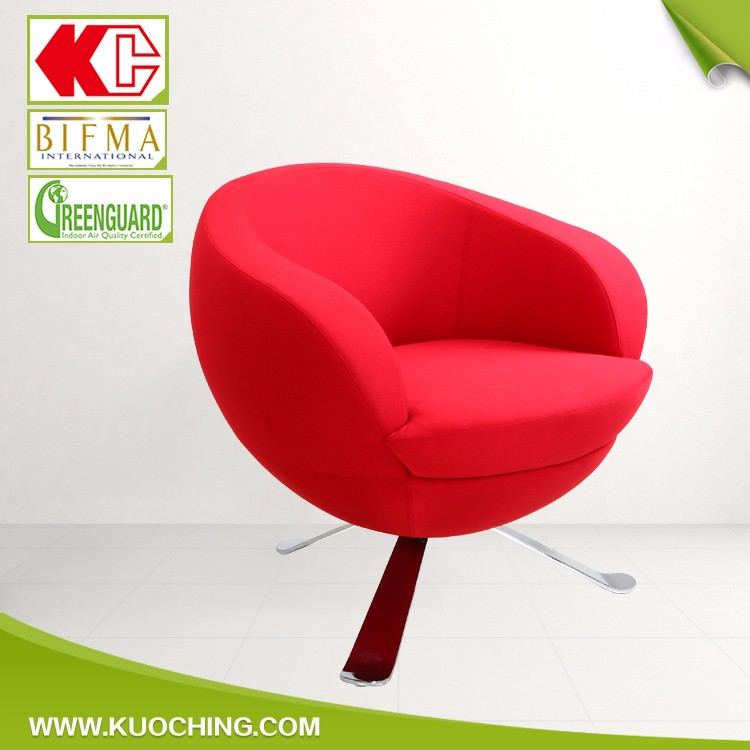 Unique Shaped Breathable Fabric High-Heel Shoe Chair