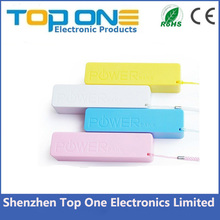 New Cheap OEM 2600mah power bank ,mobile power supply,portable battery charger