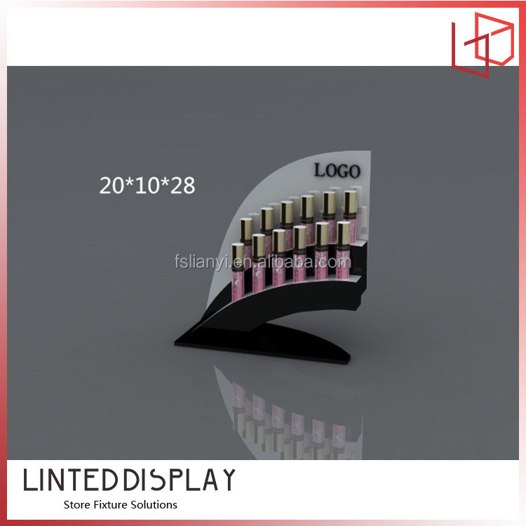 Good looking design acrylic lipstick display stand,cosmetic displays
