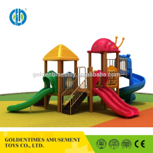 Top quality new design outdoor playground children wooden equipment