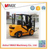 used manual toyota 3.5Ton Diesel Forklift with solid tire,manual hydraulic transmission,paper roll clamp