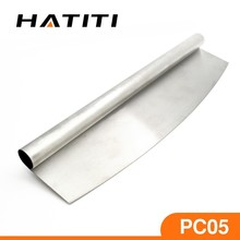 Amazon hot selling factory direct supplying pizza tools stainless steel pizza cutter rocker PC05