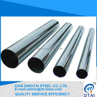 China manufacturer welded stainless steel pipe(304/304L/316L/321)
