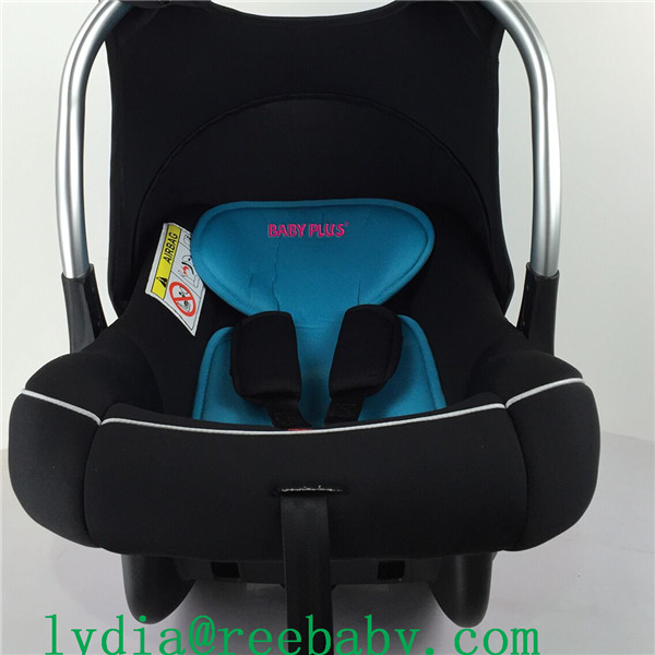 3-point vehicle belt child car seat with ECE R44/04 for group 123 (9-36kgs, 1-12 year baby)