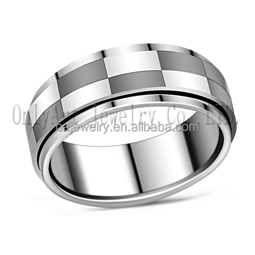 wholesale jewelry stainless steel ring comfort fit custom made stainless steel ring