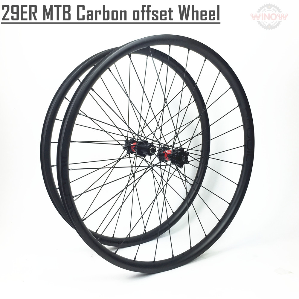 29 inch MTB bicycle wheel full carbon tubuless bicycle wheel carbon 29er mtb wheels