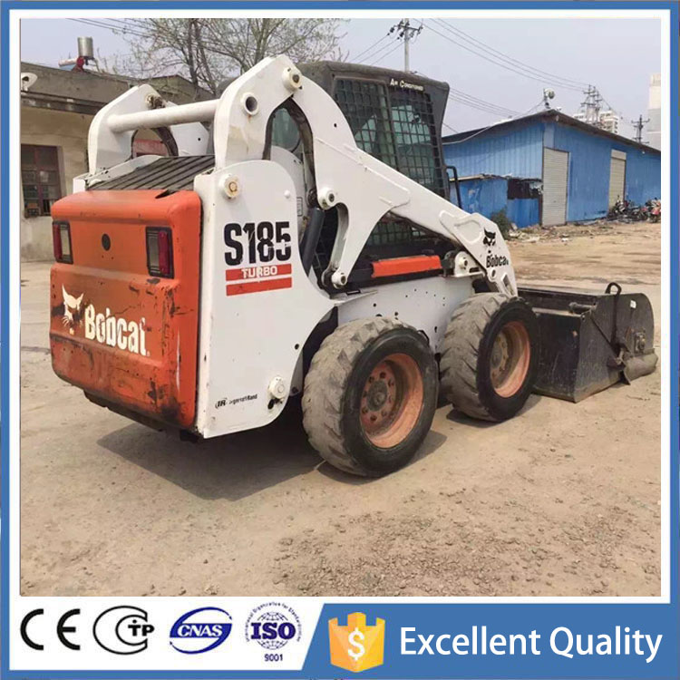 USA Construction Machine S185 Used Bobcat Front Loader For Sale With Cheap Price