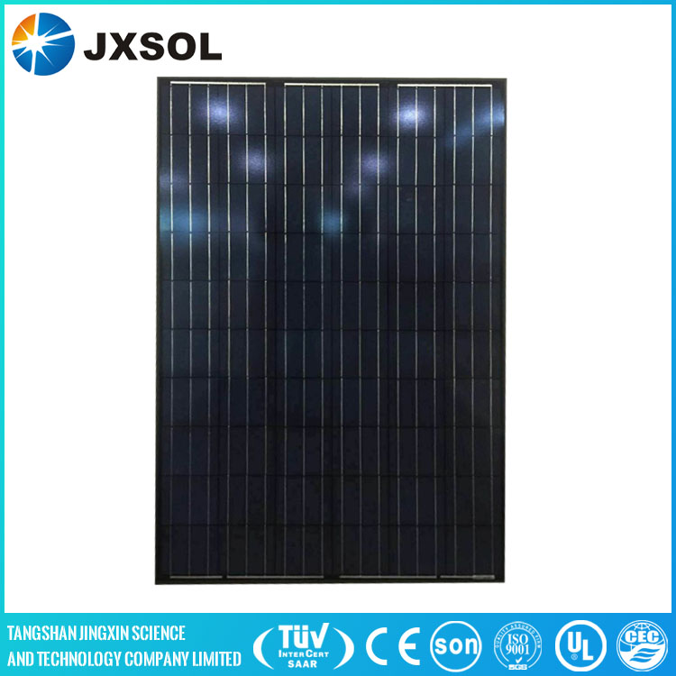 no anti-duping black colour photovaltaic solar panel 250wp