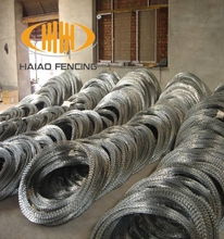 military razor wire types of the barbed wire fence