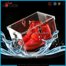 Custom wholesale acrylic shoe display stand for retail store