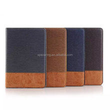 For iPad mini 4 wallet leather case with card slots, for iPad mini 4 stand leather case
