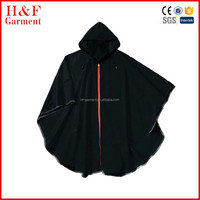 Red Zipper Rain Gear For Men