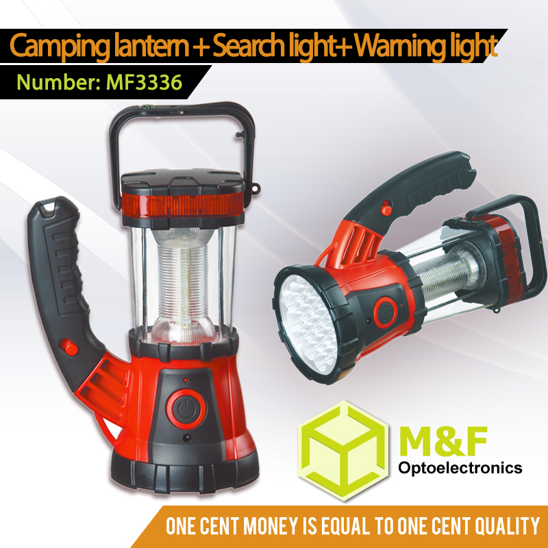 Hand Crank Rechargeable Outdoor Radio Camping LED Solar Lantern