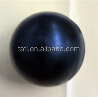 solid 5 inch rubber ball