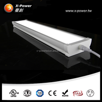 Warehouse parking lot industrial ip65 tri proof led linear saa light waterproof lighting for showers