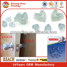 plastic adhesive wall protection rubber cabinet door bumper