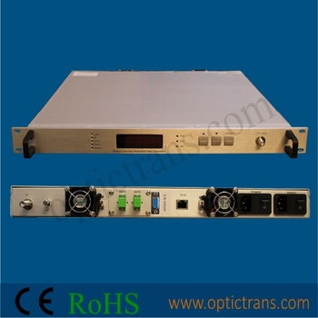 CATV 1550nm Fiber Optical Transmitter (OPT-1550E-S)