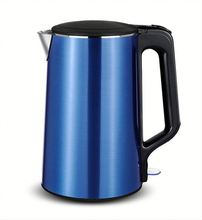 High power Blue 2.0L Stainless Steel electric kettle for hotels and home
