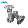 Flanged Stainless Steel Braid Metal Flexible Hose For Electronic Industry