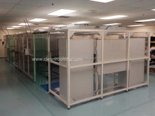 Class 1000 Modular clean room/modular clean booth with PVC wall