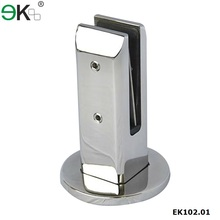 Stainless steel pool fence glass spigot