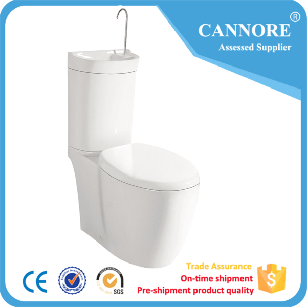 New Fashion Two Piece Toilet Bowl With Bidet