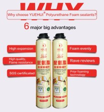 High quality liquid polyurethane pu foam sealant