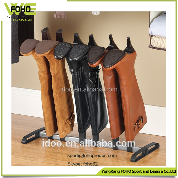 Fashion style shoe rack 3 pairs boot rack, good sale shoe and boot rack FH-SRA00786