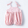 2016 wholesale girls clothes summer lovely jumpsuit baby romper