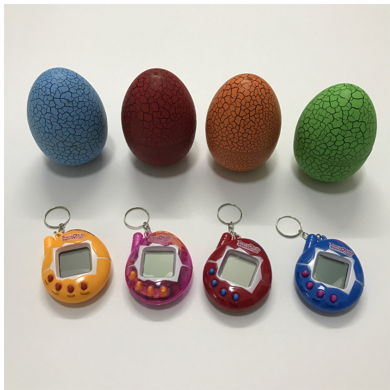 Alibaba hot sale electric pet game tamagotchi surprise egg toy Tamagotchi toy
