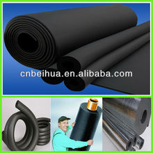 Pvc/nbr rubber foam heat insulation pipe building material