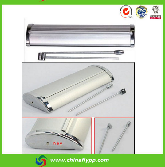 China manufacturer portable aluminum advertising roll up banner stand for exhibition