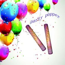 hot selling party decoration party popper/confetti shooter/confetti cannon