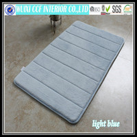 Washable anti-slip memory foam door shower carpet mat