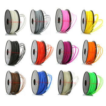 High Quality 1.75/3.0mm PLA filament for FFF/FDM 3D Printer Filament