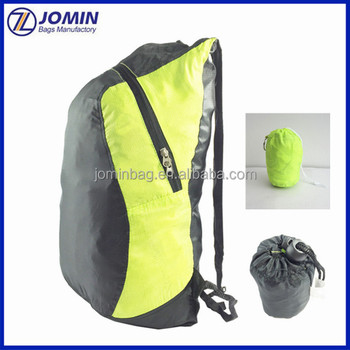 Outdoor ultra compact packkable pack, nyon lightweight folding travel backpack